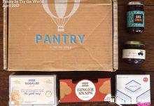 April 2017 Pantry by Try The World Review - Box Contents