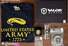 April 2017 Valor Blocks Army Block Review - Box Contents