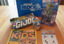 April 2017 Nerd Block Jr. for Boys Review - Box Contents