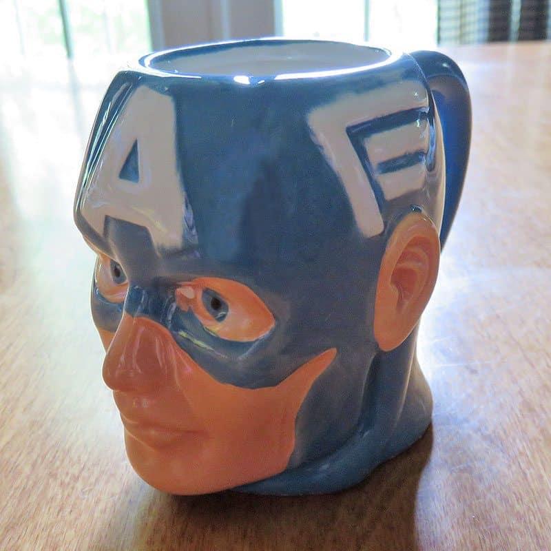 April 2017 Nerd Block Jr. for Boys Review - Captain America Mug