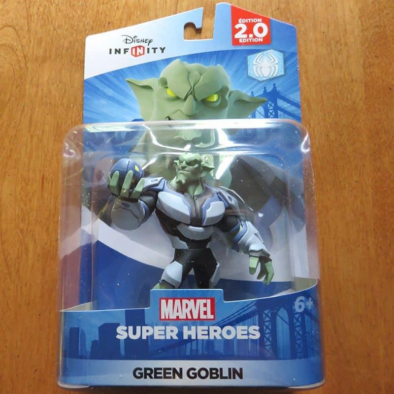 April 2017 Nerd Block Jr. for Boys Review - Disney's Infinity Marvel's Green Goblin