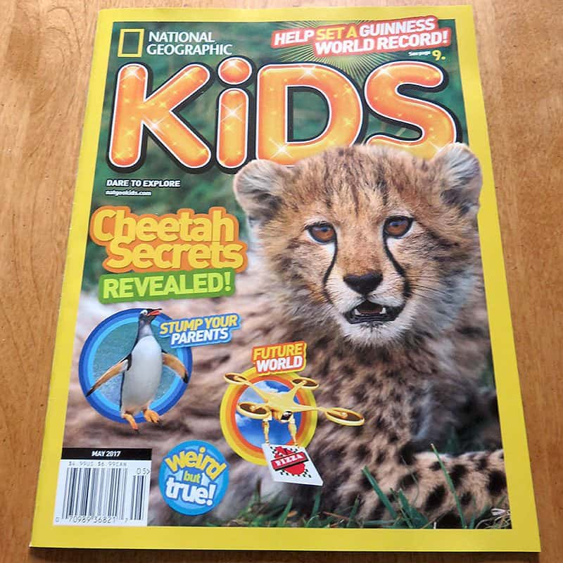 April 2017 Nerd Block Jr. for Boys Review - National Geographic Kids
