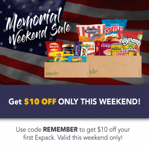 Expack Memorial Day Sale