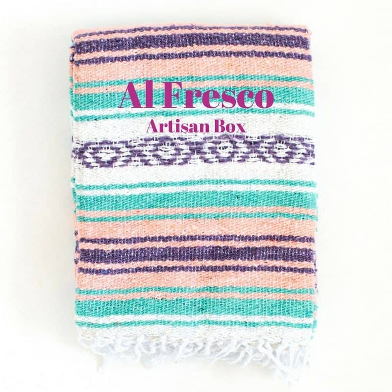 GlobeIn June 2017 Artisan Box Theme - Al Fresco
