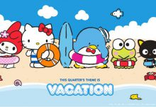 June 2017 Loot Crate Sanrio Small Gift Crate Theme - Vacation