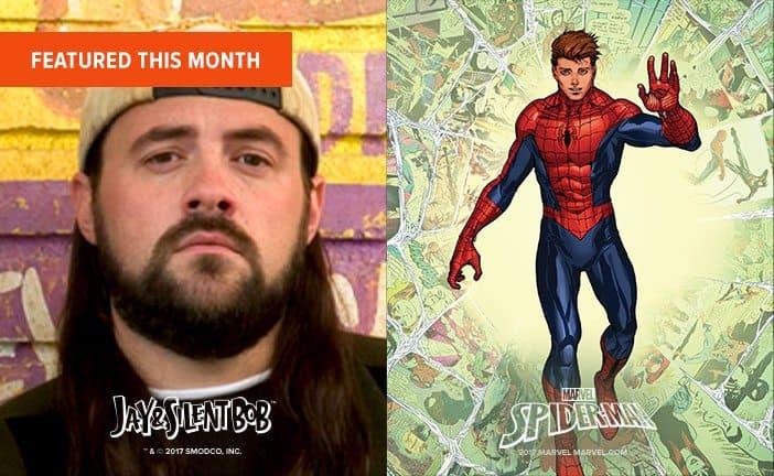 June 2017 Loot Socks Box Spoiler - Spiderman, Jay & Silent Bob