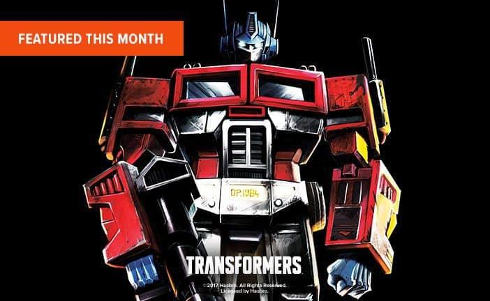 June 2017 Loot Tees Box Spoiler - Transformers