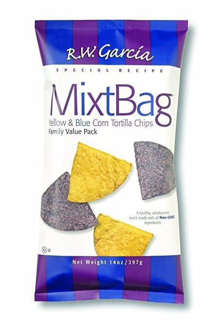 June 2017 Love With Food Box Spoiler - RW Garcia Yellow & Blue MixtBag