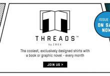 June 2017 THREADS by ZBOX Box Spoiler - Sherlock Holmes and Donnie Darko