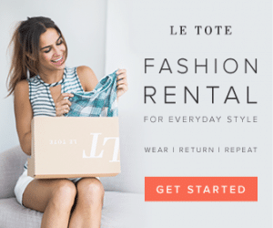Le Tote Subscription Box Memorial Day Deal
