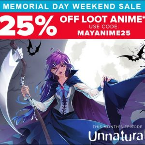 Loot Anime Memorial Day Sale
