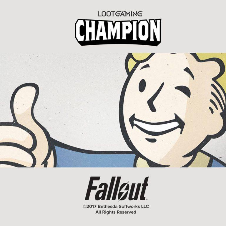 Loot Gaming June 2017 Theme - Champion