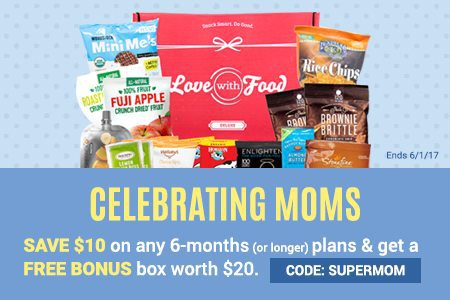 Love With Food Mother's Day Sale