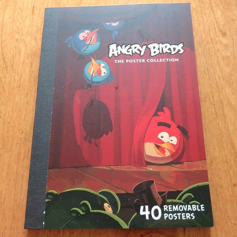 March 2017 Nerd Block Jr. for Boys Review - Angry Birds Poster