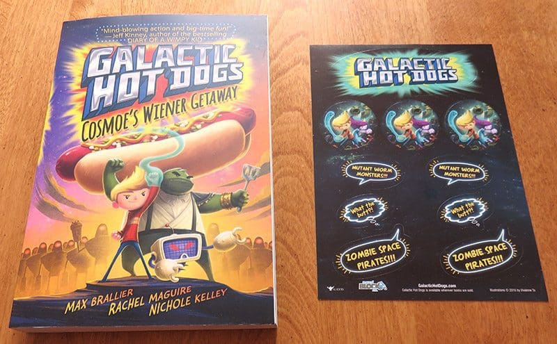 March 2017 Nerd Block Jr. for Boys Review - Galactic Hot Dogs