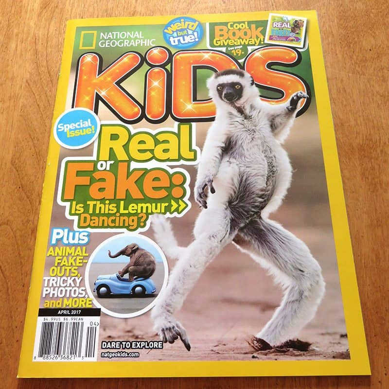 March 2017 Nerd Block Jr. for Boys Review - National Geographic Kids