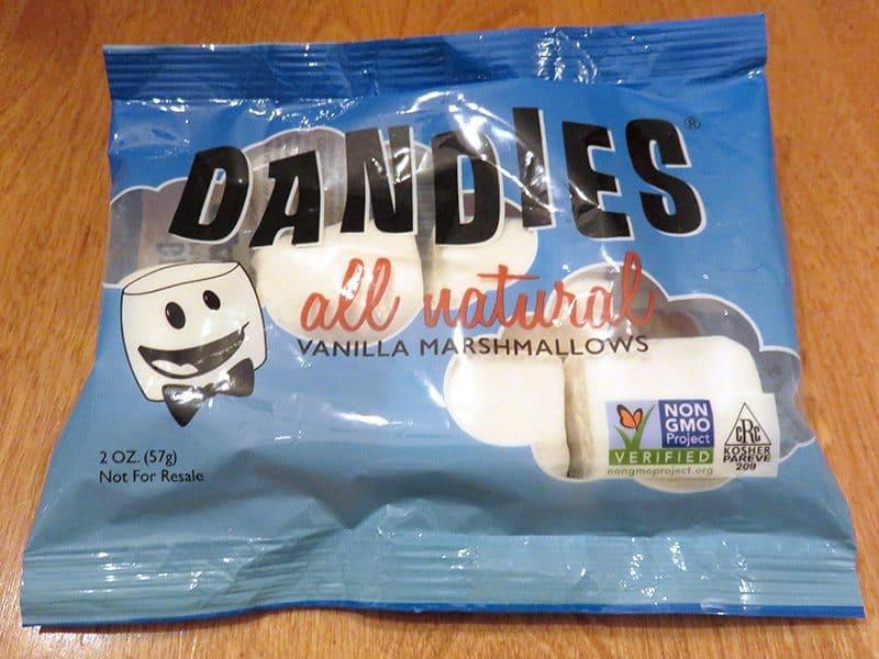 May 2017 Degustabox Review - Dandies Marshmallows