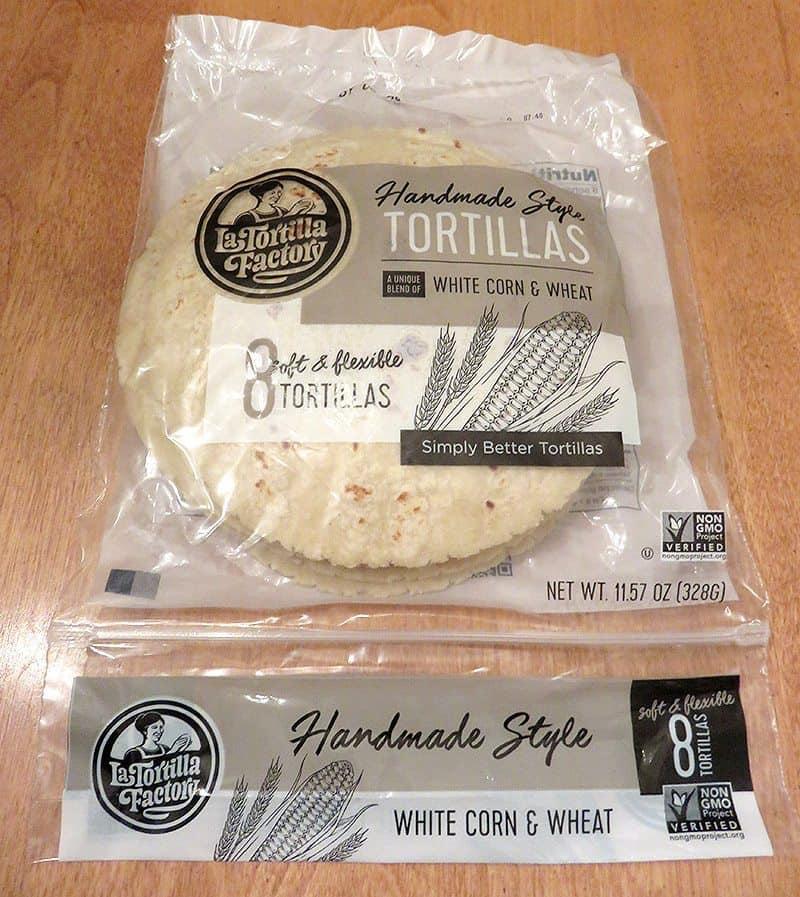 May 2017 Degustabox Review - La Tortilla Factory Tortillas