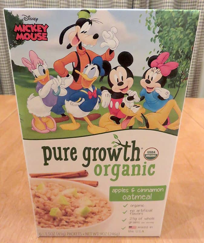 May 2017 Degustabox Review - Pure Growth Organic Oatmeal