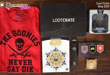 May 2017 Loot Crate Review – Guardians Crate - Box Contents