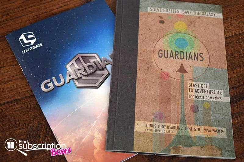 May 2017 Loot Crate Review – Guardians Crate - Brochures