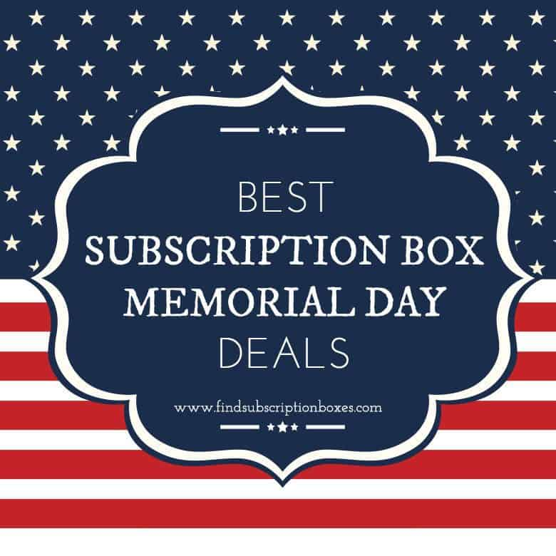 Best Memorial Day Subscription Box Deals