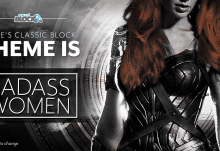 Nerd Block June 2017 Classic Block Theme - Badass Women