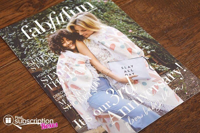 Spring 2017 FabFitFun VIP Box Review - Magazine