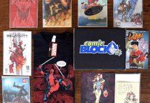 April 2017 Comic Block Review - Box Contents
