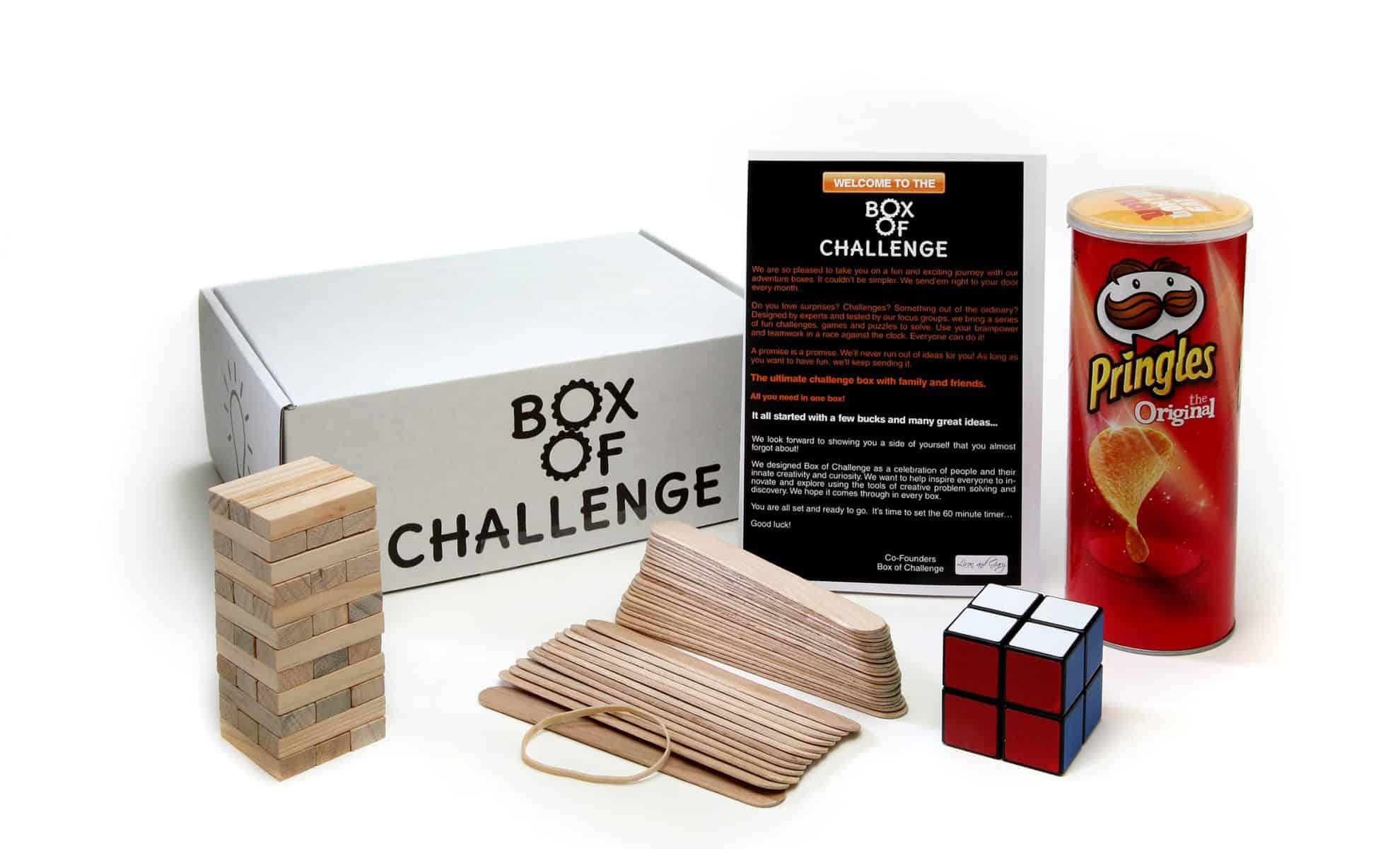 Box of Challenge Subscription Box