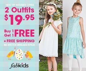 FabKids BOGO Free Offer
