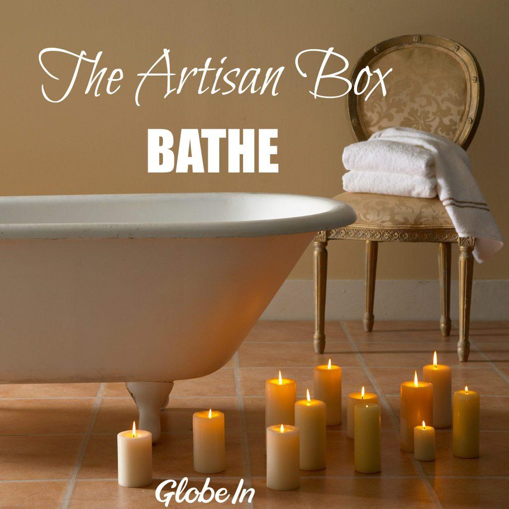 GlobeIn July 2017 Artisan Box Theme - Bathe