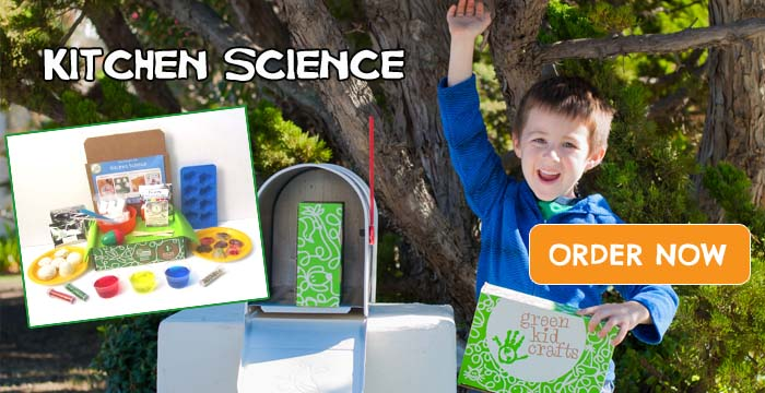 Green Kid Crafts July Kitchen Science Discovery Box