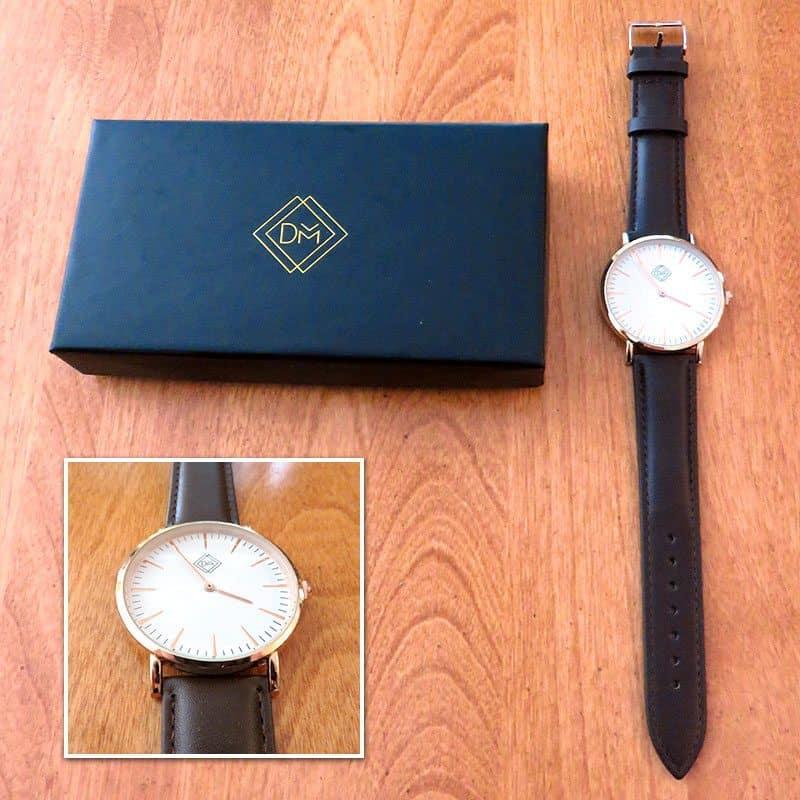 June 2017 Gentleman's Box Review - Defined Men Leather Watch