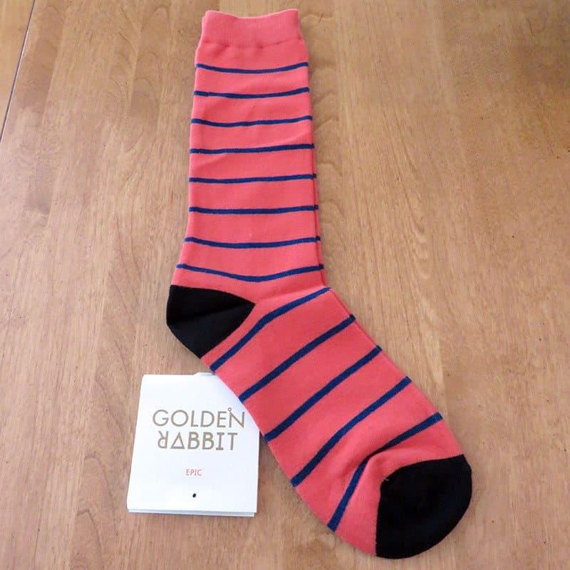 June 2017 Gentlemen's Box Review - Golden Rabbit Socks