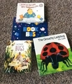June 2017 Book Bus Review - Box Contents