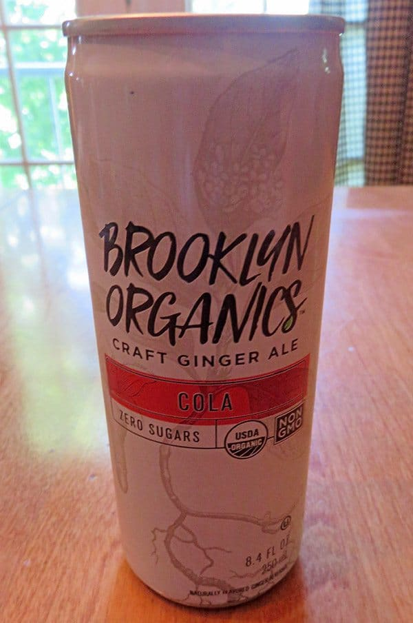 June 2017 Degustabox Review - Brooklyn Organics Craft Ginger Ale