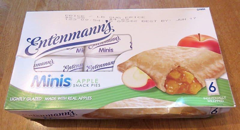June 2017 Degustabox Review - Entenmann's Mini Apple Pies