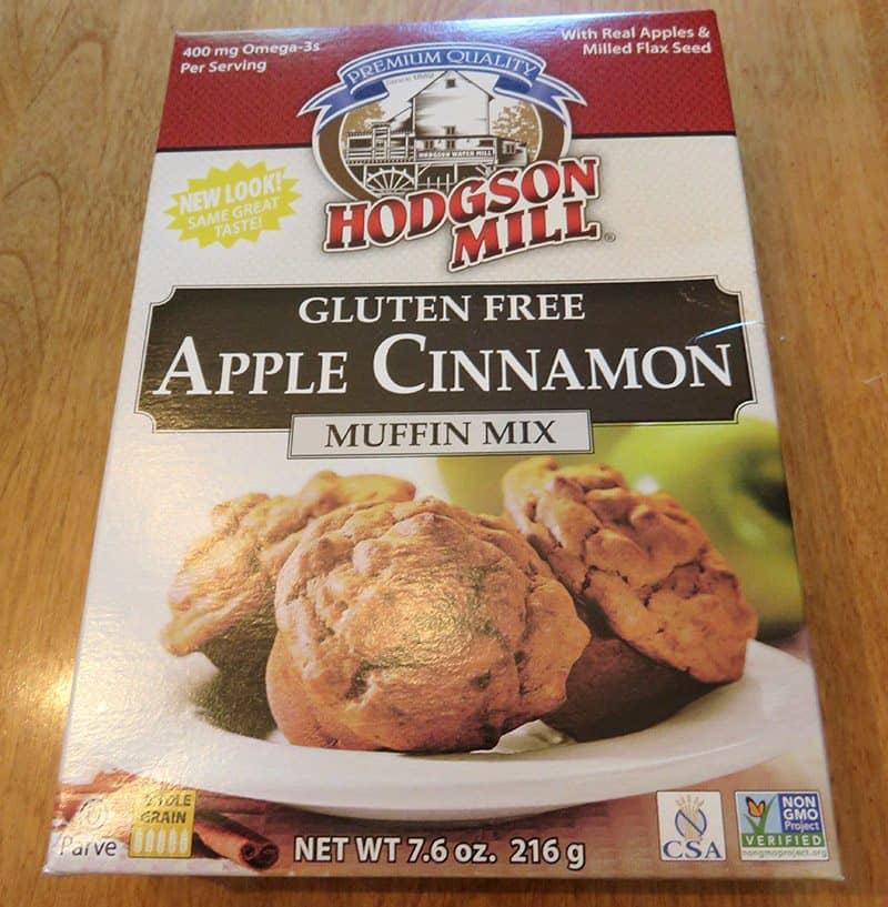 June 2017 Degustabox Review - Hodgson Mill Apple Cinnamon Muffin Mix