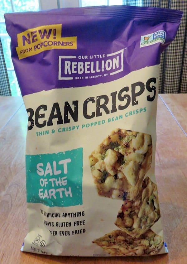 June 2017 Degustabox Review - Our Little Rebellion Bean Crisps