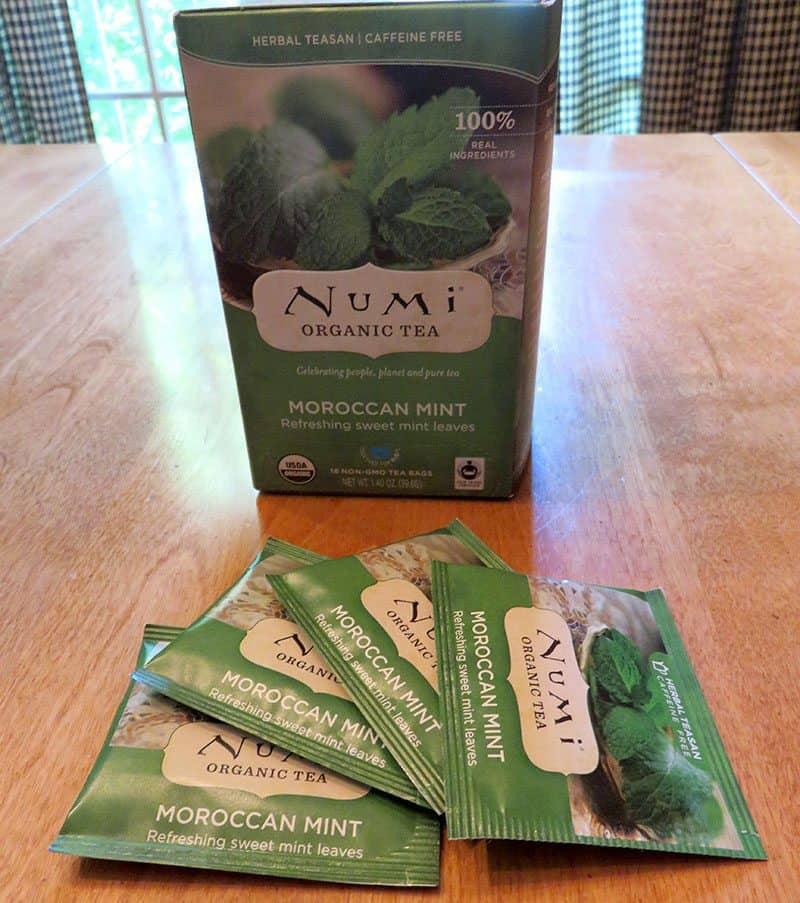 June 2017 GlobeIn Artisan Box Review - Refresh - Numi Organic Tea