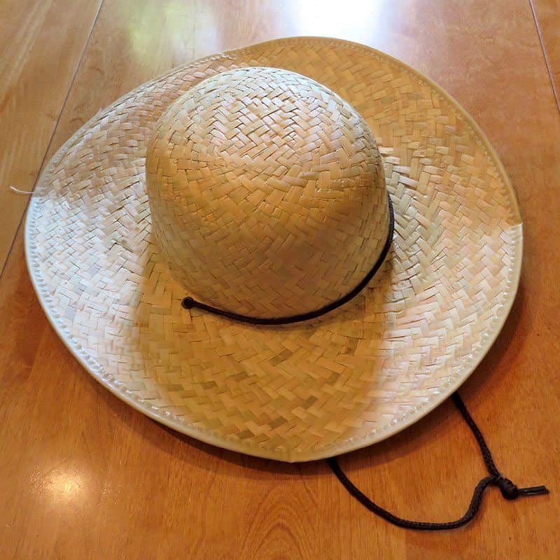 June 2017 GlobeIn Artisan Box Review - Refresh - Sun Hat