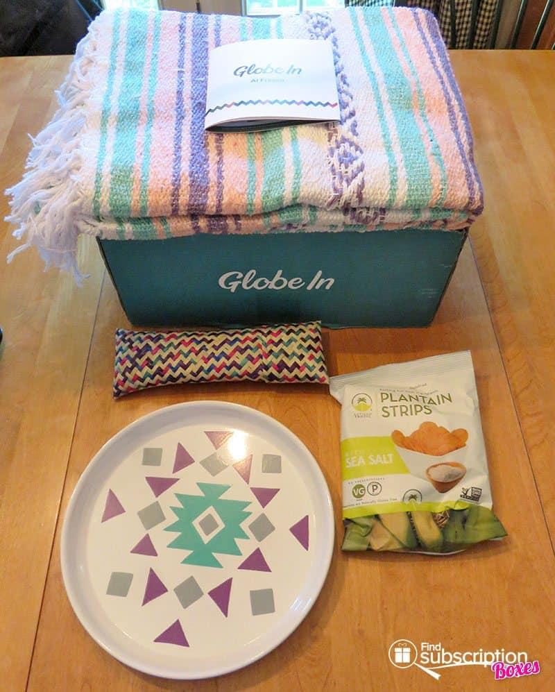 June 2017 GlobeIn Artisan Box Review – Al Fresco - Box Contents
