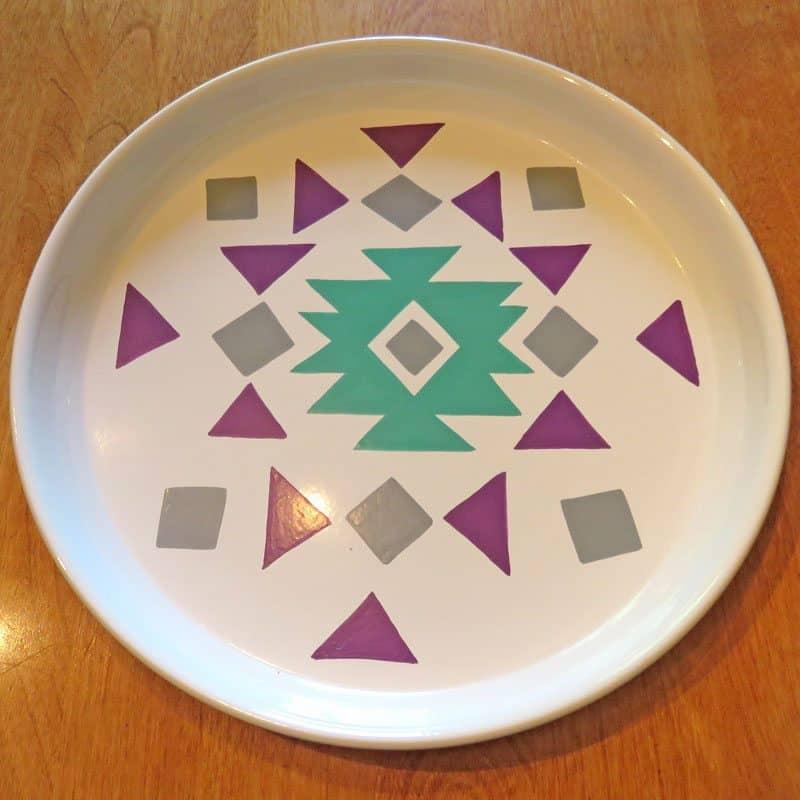 June 2017 GlobeIn Artisan Box Review – Al Fresco - Enamel Plate