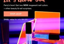 Julep Maven June 2017 Let's Glow Out Mystery Box