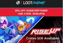 June 2017 Loot Anime Promo Code