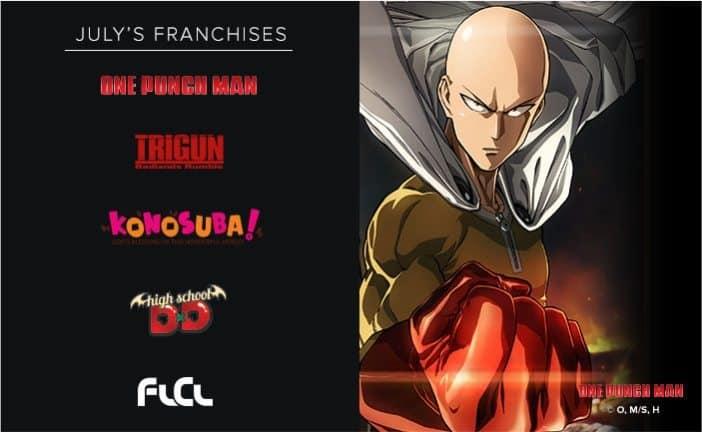 Loot Anime July 2017 Spoilers