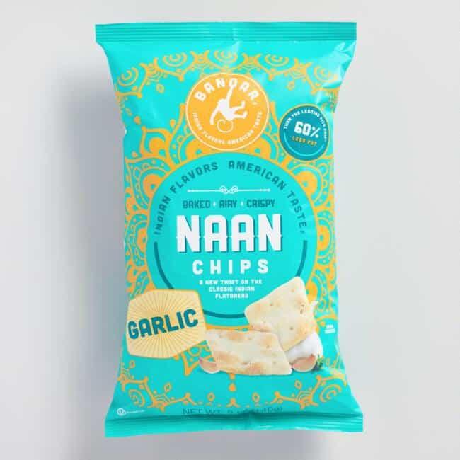 July 2017 Love With Food Spoiler - Bandar Garlic Naan Chips