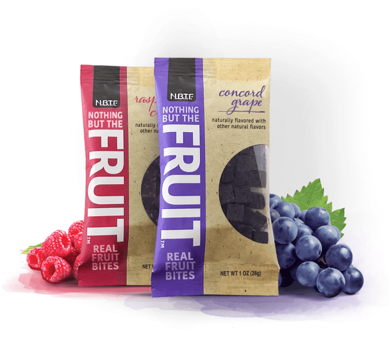 July 2017 Love With Food Spoiler - Nothing But Fruit Concord Grape and Raspberry Chia