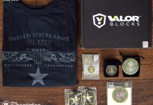 May 2017 Valor Blocks Army Block Review - Box Contents
